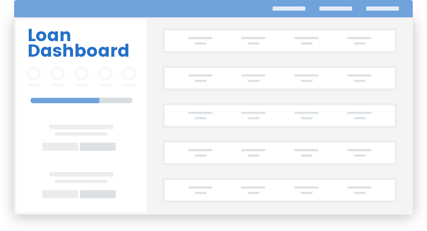MortgageHippo Loan Dashboard